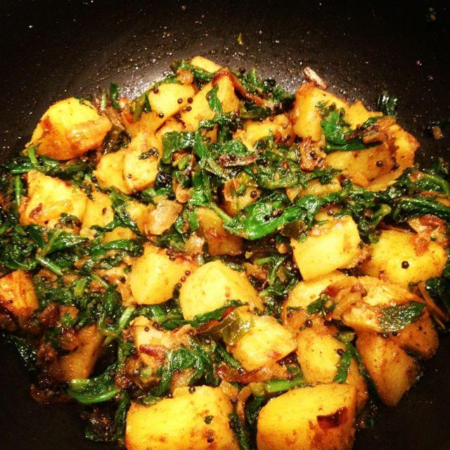 potato-and-radish-curry