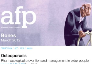 AFP osteoporosis treatment article