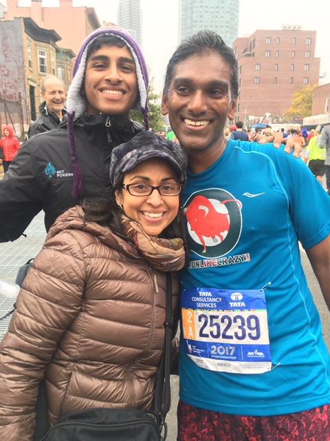 Gaj NYC marathon 2017
