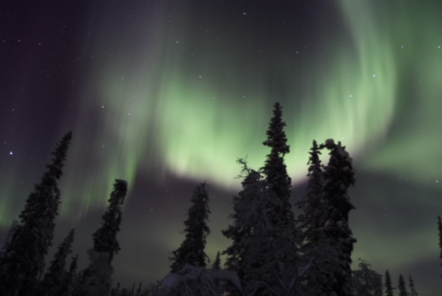 northern lights ivalo finland